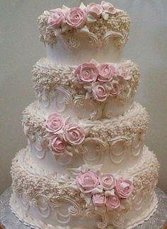 Modern Victorian Wedding Cake Designs