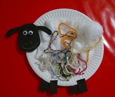 Paper Plate Sheep - Animal Week At Messy Play By Le Baby Bakery