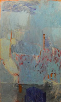 Margaret Glew. The under-glow of the paint beneath the surface invites me right into this piece.
