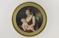 Jean-Antoine Laurent, Young woman feeding her child, 1803