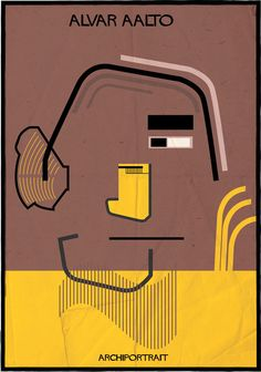 The Latest Illustration from Federico Babina: ARCHIPORTRAIT
