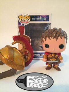 Doctor Who Rory Williams (The Last Centurion) with helmet custom Funko POP!