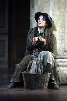 """Michelle Dockery as Eliza Doolittle in """"Pygmalion"""" by George Bernard Shaw."""
