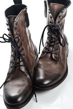 Fancy - Men's Westland Leather Lace Up Ankle Boot