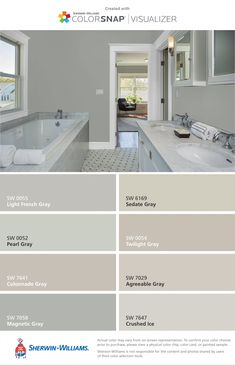 This Before You Paint Your Kitchen Cabinets The best whites compared - Benjamin Moore Dove White versus Simply White vs.The best whites compared - Benjamin Moore Dove White versus Simply White vs. Paint Colors For Living Room, Paint Colors For Home, Fixer Upper Paint Colors, Small Bathroom Paint Colors, Light Grey Paint Colors, Greige Paint Colors, Light Grey Walls, Kitchen Paint Colors, Wall Paint Colors
