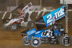 #POTD211 Dale Blaney 2 | Steve Kinser | 2013.04.20 | Haubstaudt Speedway