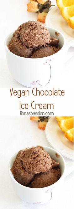 Vegan Chocolate Ice