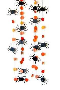 Creepy eight-legged creatures to climb all over your walls.
