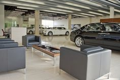 Car Showroom Interiors & Design