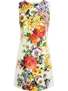 Shop Dolce & Gabbana Floral Jaquard Dress in Boutique Mantovani from the world's best independent boutiques at farfetch.com. Over 1000 designers from 60 boutiques in one website.