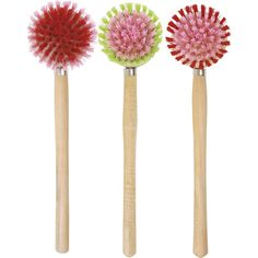 Wooden Washing Up Brush , Assorted Colours