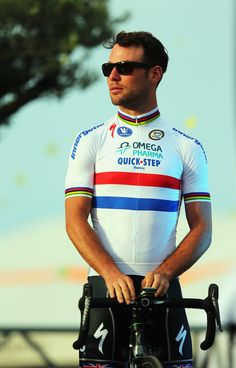 Mark Cavendish of Great Britain and the Omega Pharma-Quick Step team attends the Team Presentation on June 27, 2013 in Port-Vecchio, Corsica.