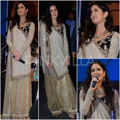 Yay or Nay : Katrina Kaif in Sabyasachi Sabyasachi Sarees, Bridal Lehenga Choli, Lehenga Saree, Saree Dress, Anarkali, Elegant Dresses, Pretty Dresses, Beautiful Dresses, Pakistani Dresses
