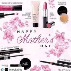 Happy Mother's Day to all the fabulous moms, aunts, friends out there! Thanks so much for all that you do, and will do! Decided to do something a little special for you Mom - enjoy buy one, get one half off of (any skin care, or cosmetic product of equal or lesser value ) on your next Mary Kay order! Contact me today to treat yourself! #MothersDay #Mom