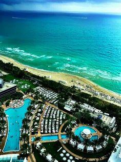 Fountain Blue - Miami Beach
