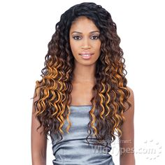 Freetress Equal Synthetic Hair Lace Deep Invisible L Part Lace Front Wig - KYLIE [11251]