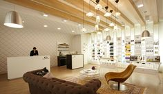 Escentials concept store by Asylum Singapore - inspired by a woman's NY apt