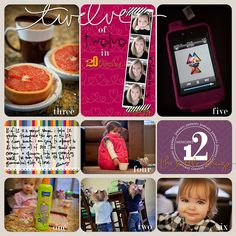 LOVE her PL layouts AND her 12 of 12 in 2012.  12 photos on the 12th of each month :-)