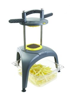 Matfer Bourgeat The Multi-Cut French Fries Cutter X Home Gadgets, Cooking Gadgets, Cooking Tools, Kitchen Gadgets, Kitchen Appliances, Spiral Potato, French Fry Cutter, Commercial Kitchen Equipment, Vegetable Chopper