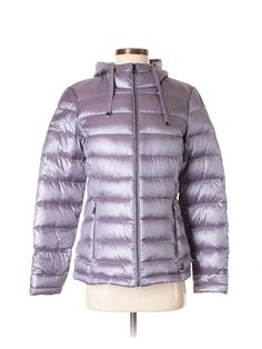 Andrew Marc Kava 32 Diamond Quilted Down W Faux Fur Hood