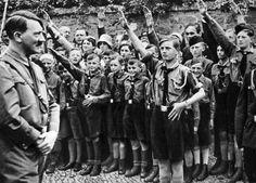Adolf and nazi kids
