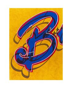 Robert Cottingham, An American Alphabet: B, 2008, Tandem Press