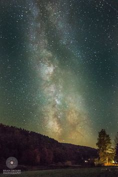 The Milky Way over Huntington, Vermont