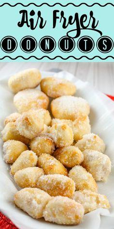 Air Fryer Oven Recipes, Air Frier Recipes, Air Fryer Dinner Recipes, Cheap Air Fryer, Large Air Fryer, Donut Recipes, Cooking Recipes, Phillips Air Fryer, Chinese Sugar Donuts Recipe