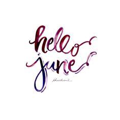 hello + june