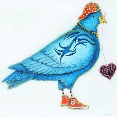 Tattoo Bluebird