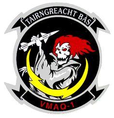 VMAQ-1 patch - Northrop Grumman EA-6B Prowler