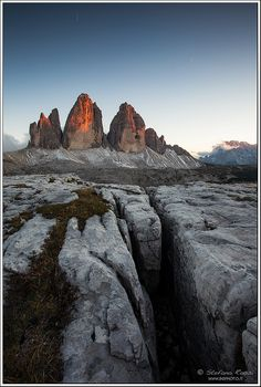 Tre Cime di Lavaredo by Stefano Rossi Photography, via Flickr