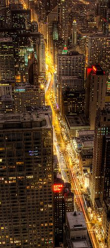 Cruising the Magnificent Mile, Chicago, IL | Flickr - Photo Sharing!