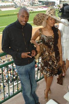 Dave Chapelle and Woman With that fly Hat!!!!!.....FIERCE!