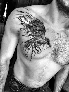 Beautifully Complex Black and White Sketch Tattoos by Inez Janiak | Blaze Press