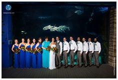 Virginia Aquarium | Jaime and Nathan | Twinkle and String Lights Wedding | Daissy Torres Photography
