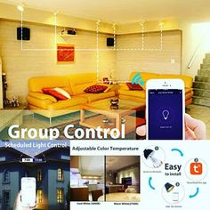 App. Voice. IFTTT. Our lights are more connected and controllable than ever. #led #smartlight #smartbulb #smartled