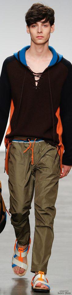Iceberg Spring 2015 Menswear