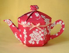 PDF template now available for the Teapot Treats Gift Box
