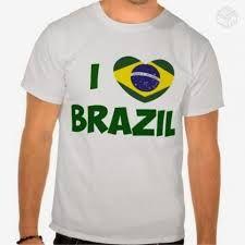 Amamos o Brazil. Até com Z! Mens Tops, T Shirt, Fashion, Shirts, Places, Supreme T Shirt, Moda, Tee Shirt, Fashion Styles