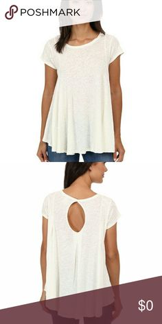 ISO Sylvie Tee Not for sale!  In white, blues, lavender, or mint. Free People Tops Tees - Short Sleeve