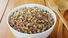 substituir arroz por quinoa