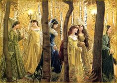 Ruth Sanderson ~The Twelve Dancing Princesses- this is my faveorite Grimm's fairytale
