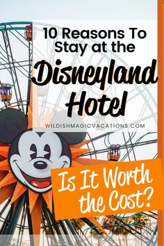 Read this post to learn the top 10 reasons why the Disneyland Hotel is the best hotel at Disneyland Park, and why you should stay there on your family's next Disneyland vacation. Disneyland Good Neighbor Hotels, Disneyland Resort Hotel, Disney Resort Hotels, Disneyland Vacation, Disney Vacation Planning, Disney World Planning, Disney Vacations, Magic Vacations, Disneyland Dining