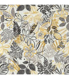 Home Decor Print Fabric- Better Homes & Gardens Linnwood Honey at Joann.com
