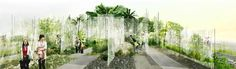 The Forest Tissue Garden, a 3rd prize winner for the 10th International Garden Expo in Hubei, China