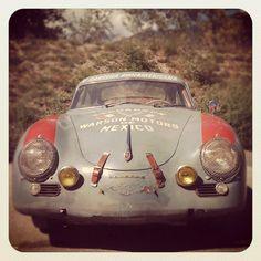 One Tough Porsche Porsche 356 Outlaw, Porsche 356 Speedster, Porsche 356a, Porsche Autos, Porsche Sports Car, Porsche Cars, Porsche Classic, Classic Sports Cars, Classic Cars
