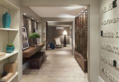 Hall dos apartamentos