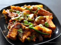 Chilli Paneer Recipe | Dry Chilli Paneer Recipe | Step by Step
