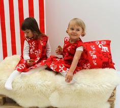 Dresses for Christmas!   Moose design by Eero Aarnio /Eurokangas